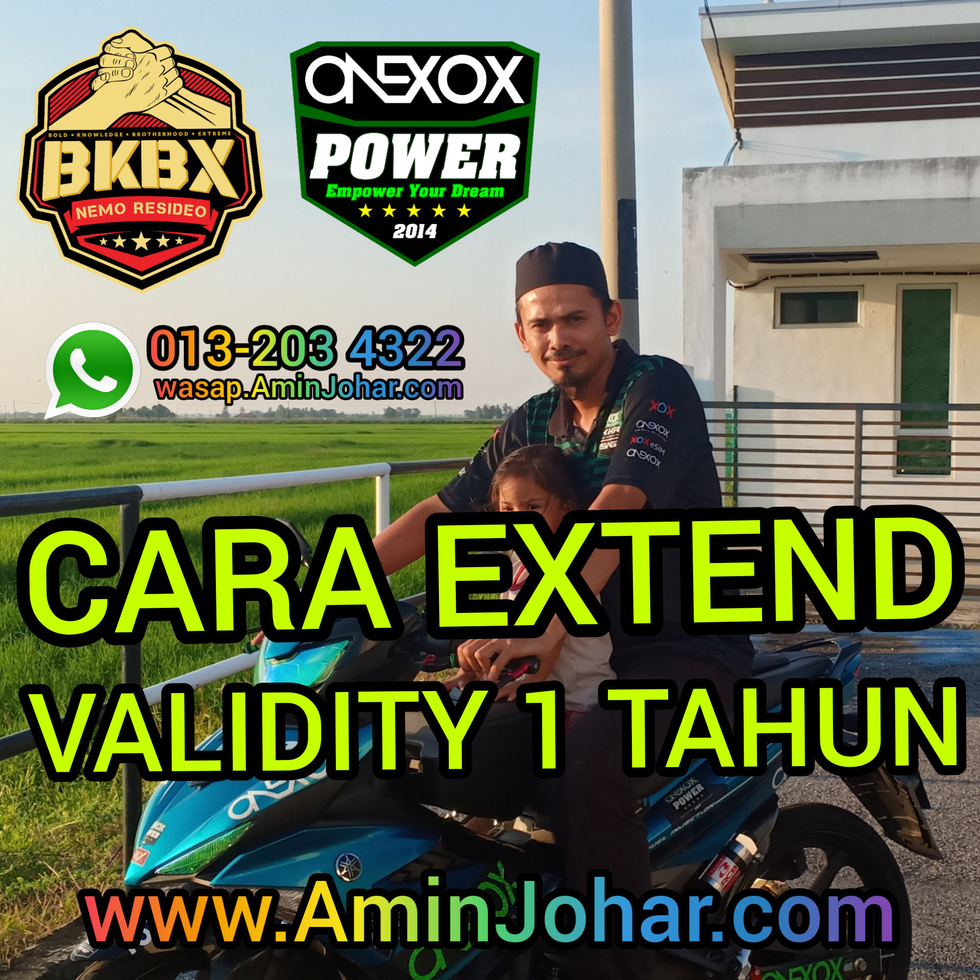 CARA-CARS EXTEND VALIDITY ONEXOX